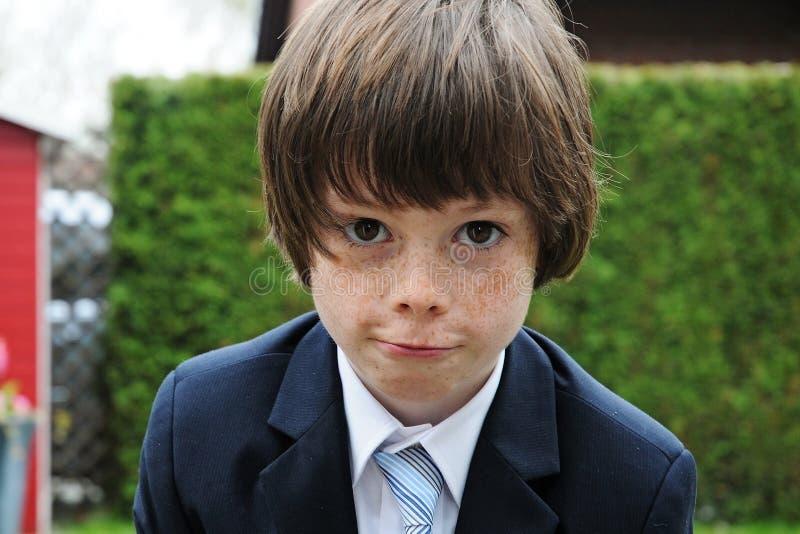 Маленький бизнесмен стоковое фото rf