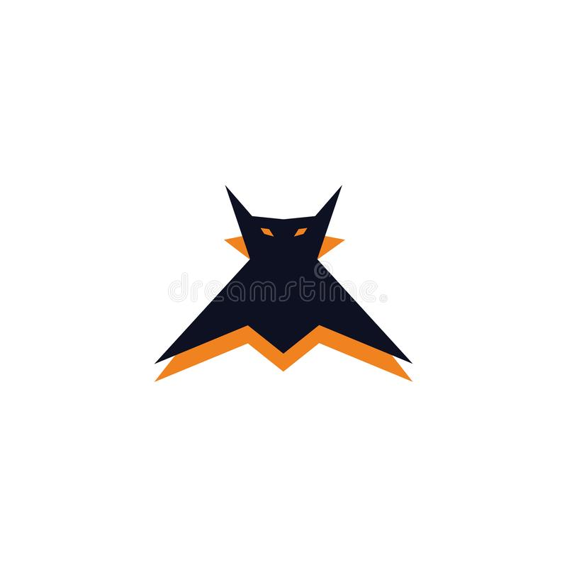 маленький злой символ вампира летучей мыши бесплатная иллюстрация