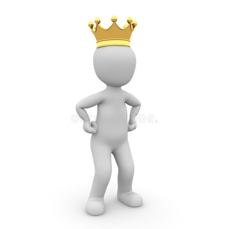Маленький король иллюстрация штока