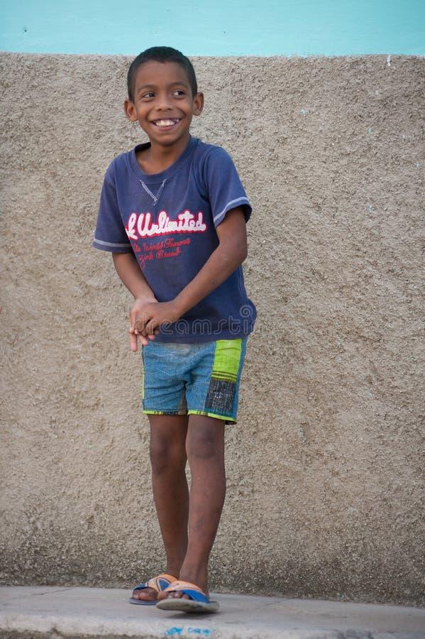 Маленький кубинський мальчик стоковые фото