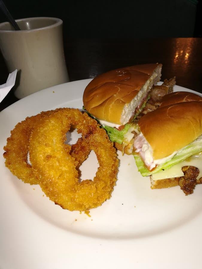 Маленький обедающий в Ланкастере Огайо стоковые фотографии rf