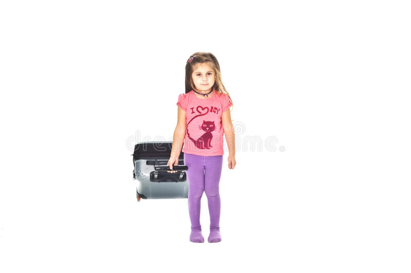 маленький путник стоковые фотографии rf