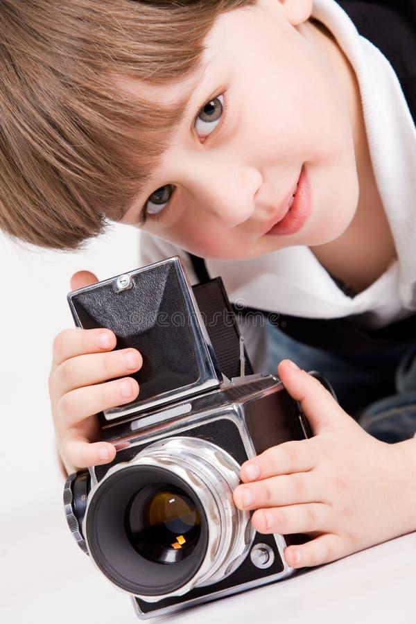 маленький фотограф стоковые фотографии rf