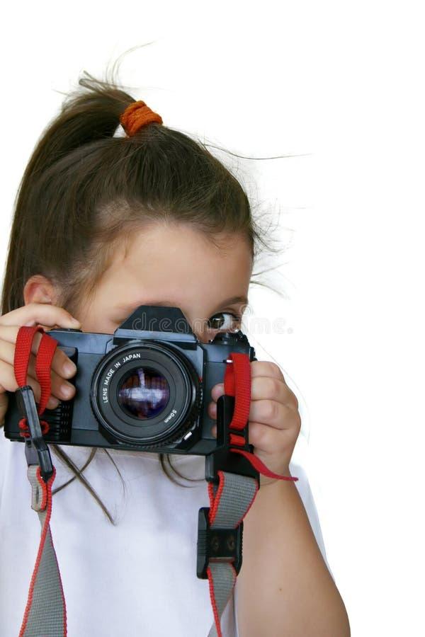 маленький фотограф стоковые изображения