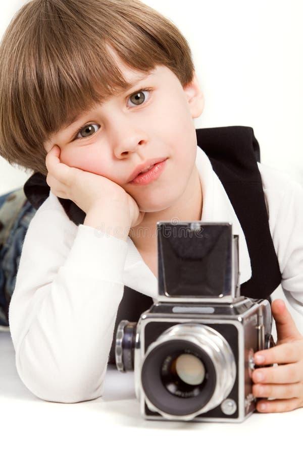 маленький фотограф стоковые фото