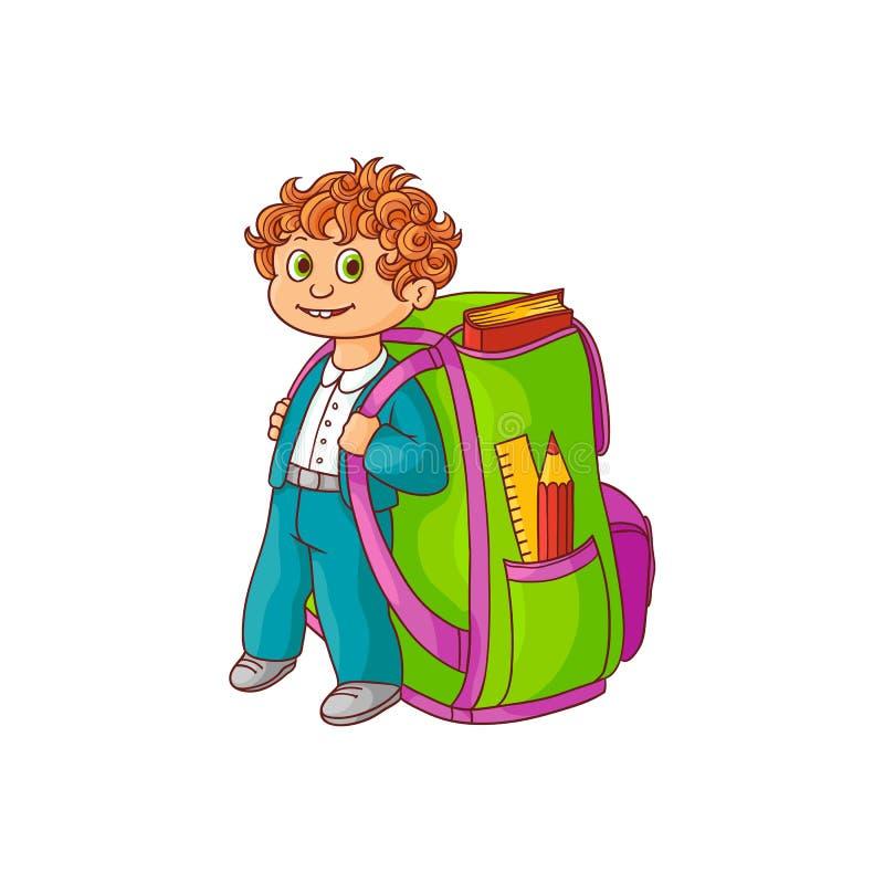это картинка ученика с рюкзаком меня правильно, занимался