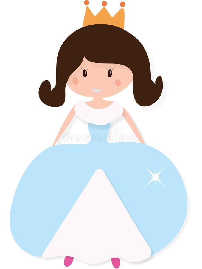 Маленький princess иллюстрация штока