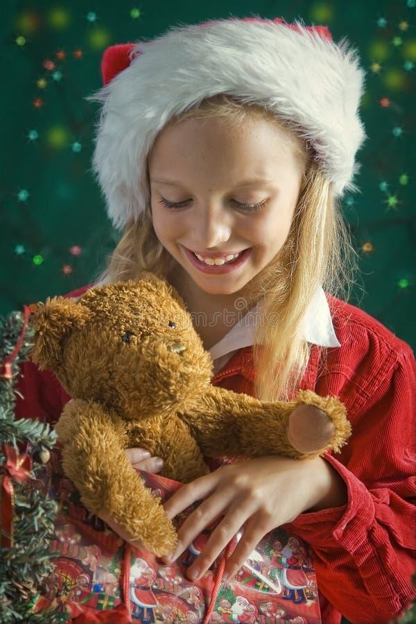 Маленькое Санта стоковое изображение rf
