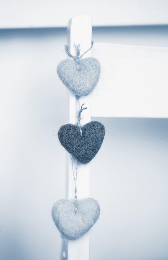 Малое сердце 3 в интерьере стоковое изображение rf