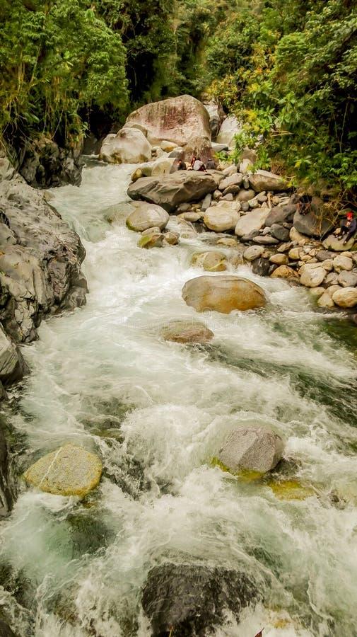 Малое храброе река стоковое изображение