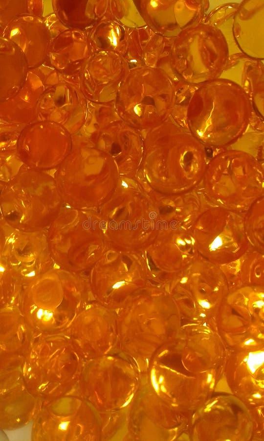 Малые оранжевые шарики стоковое изображение