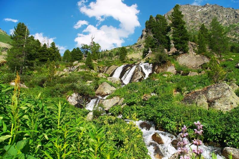 Download малый водопад 02 стоковое изображение. изображение насчитывающей облако - 484643