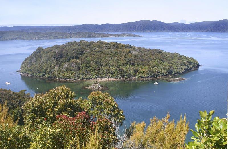 Малый остров стоковое фото rf