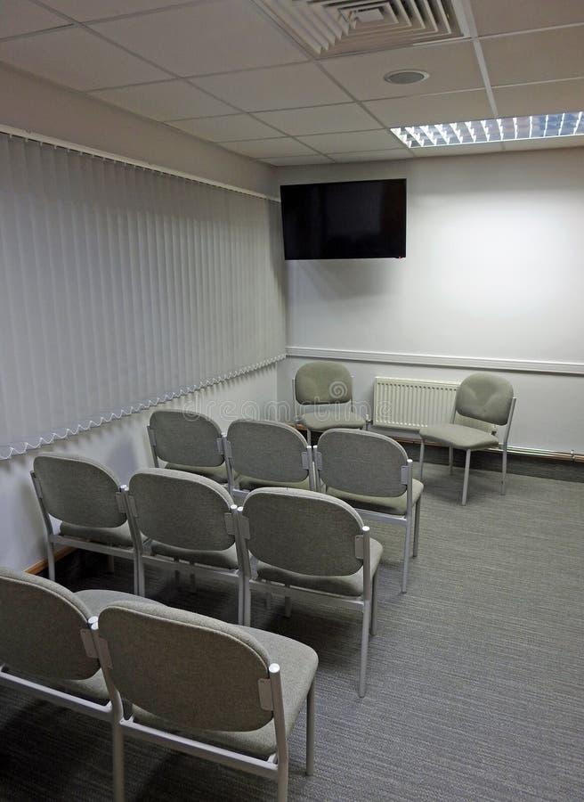 Малый офис конференц-зала стоковые изображения rf
