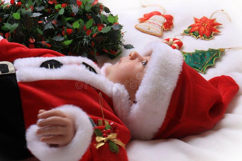 Малый Санта стоковые изображения rf