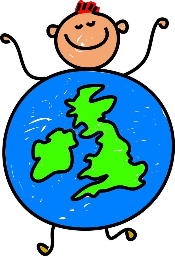 малыш Великобритания бесплатная иллюстрация