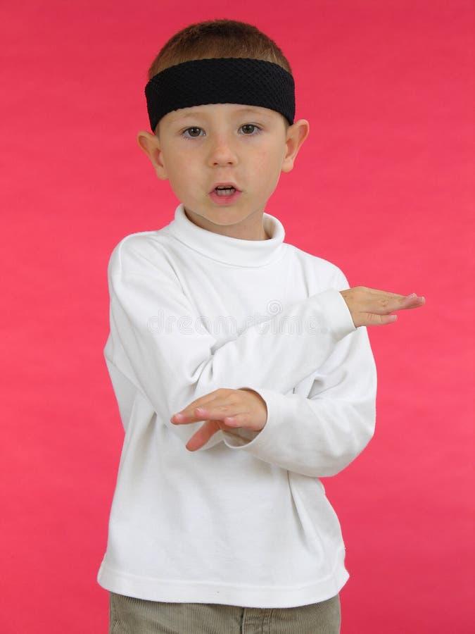 Download малыш карате 7 стоковое изображение. изображение насчитывающей карате - 491981