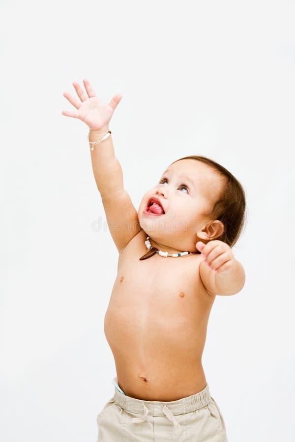 малыш мальчика стоковое изображение rf