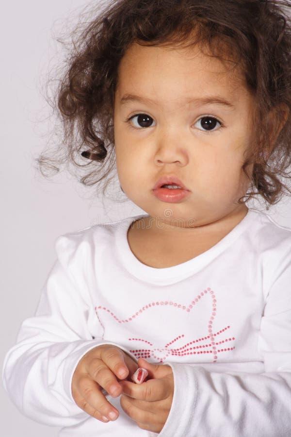 малыш портрета стоковая фотография