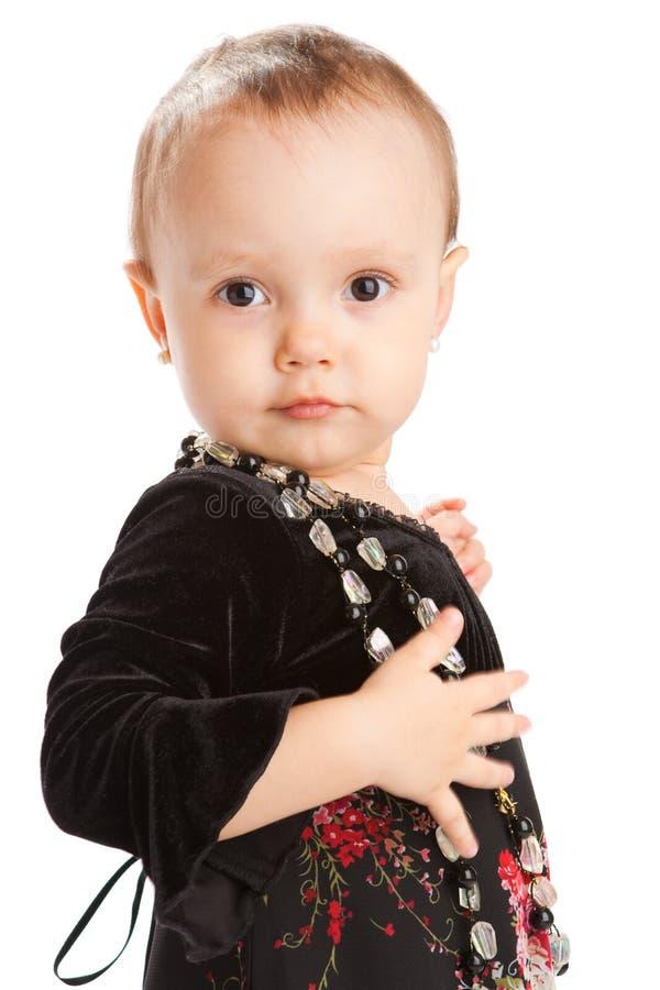 малыш портрета стоковое фото