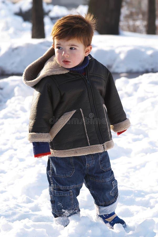 малыш снежка стоковое изображение rf