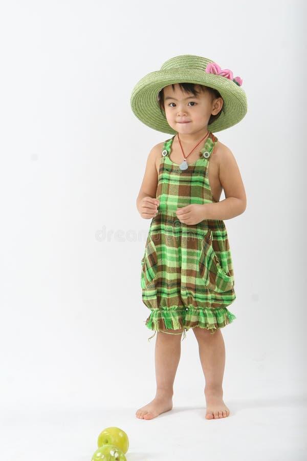 малыш фарфора милый стоковое фото