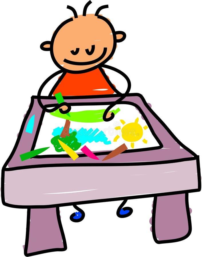 малыш чертежа бесплатная иллюстрация