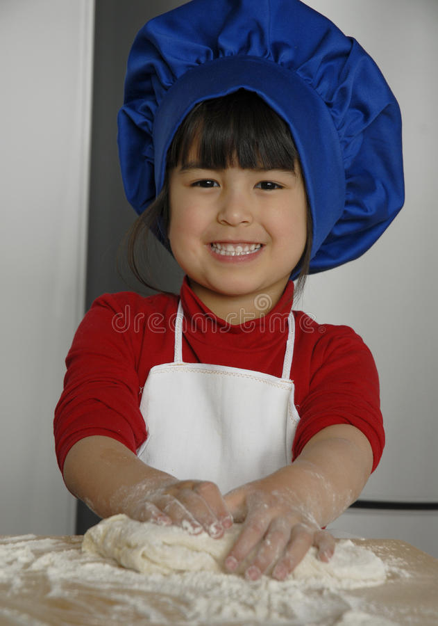 Малыш шеф-повара. стоковое фото