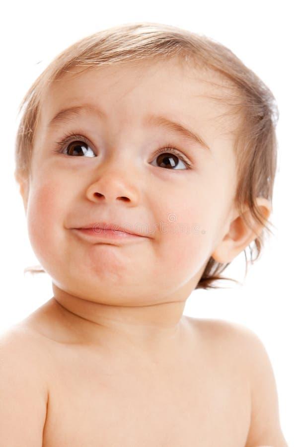 малыш smiley стоковые изображения rf