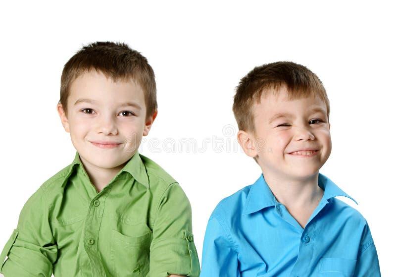 мальчики 2 стоковое фото rf