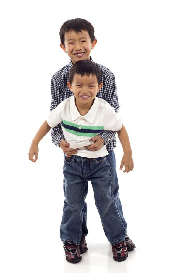 мальчики 2 стоковая фотография rf