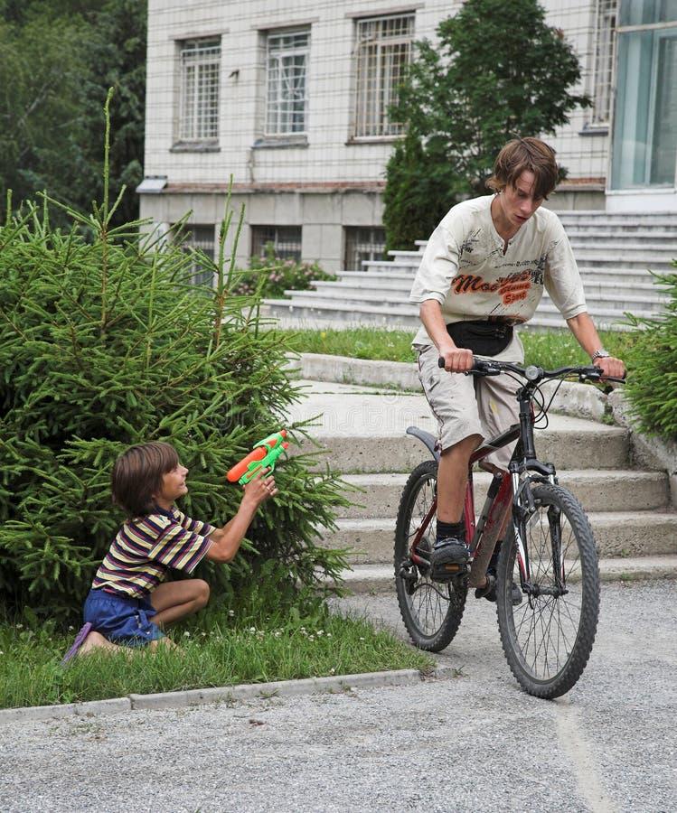 мальчики 2 Стоковые Фото