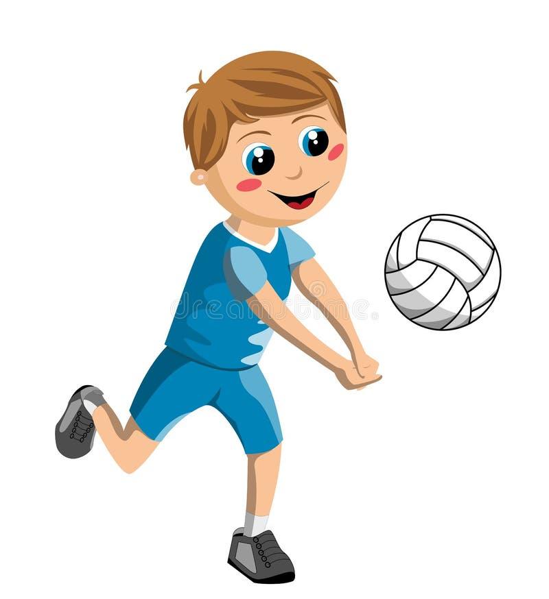 Волейбол детская картинка