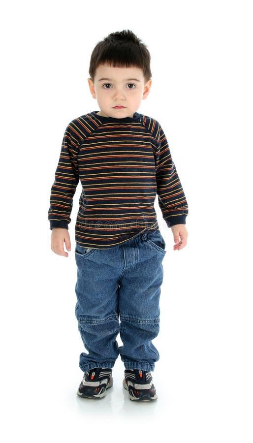 мальчик над белизной стоковые изображения