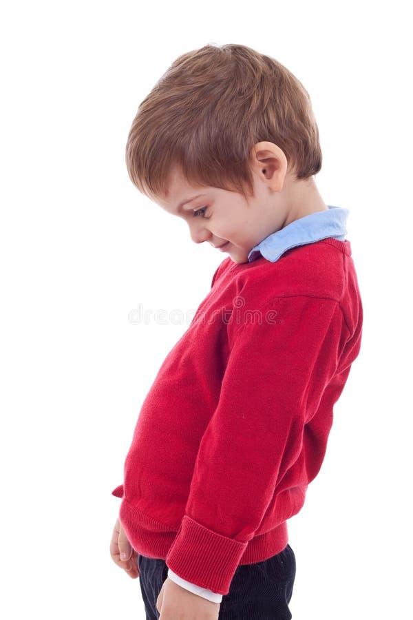мальчик немногая заботливое стоковое изображение
