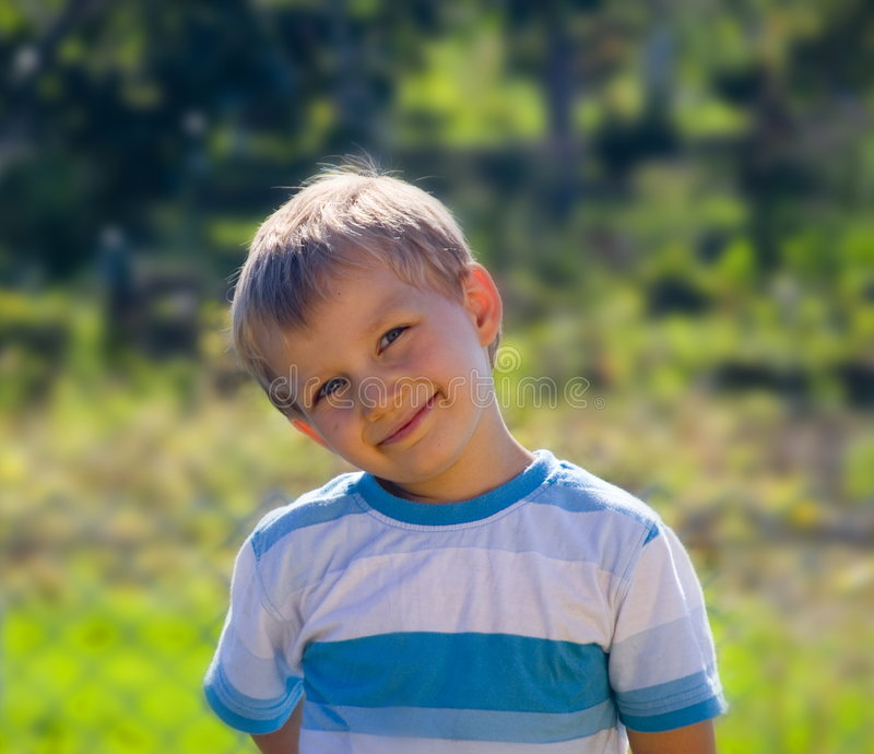 мальчик немногая стоковое фото
