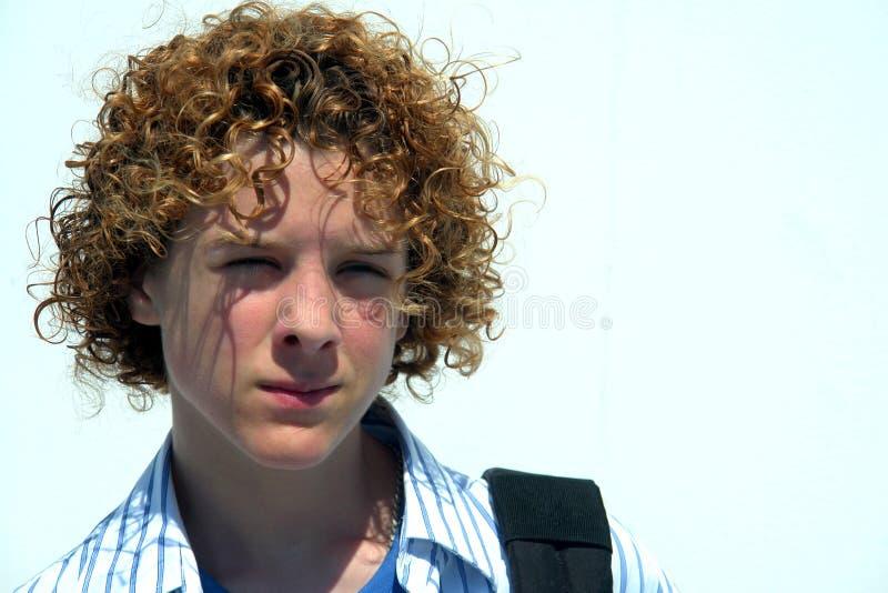 мальчик предназначенный для подростков стоковое фото rf