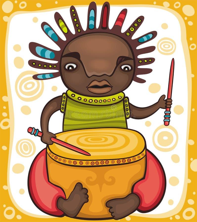мальчик этнический бесплатная иллюстрация