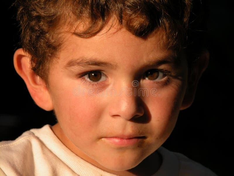 мальчик 3 времени стоковое изображение rf