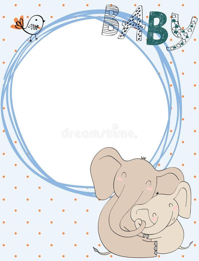 Мама и младенец бесплатная иллюстрация