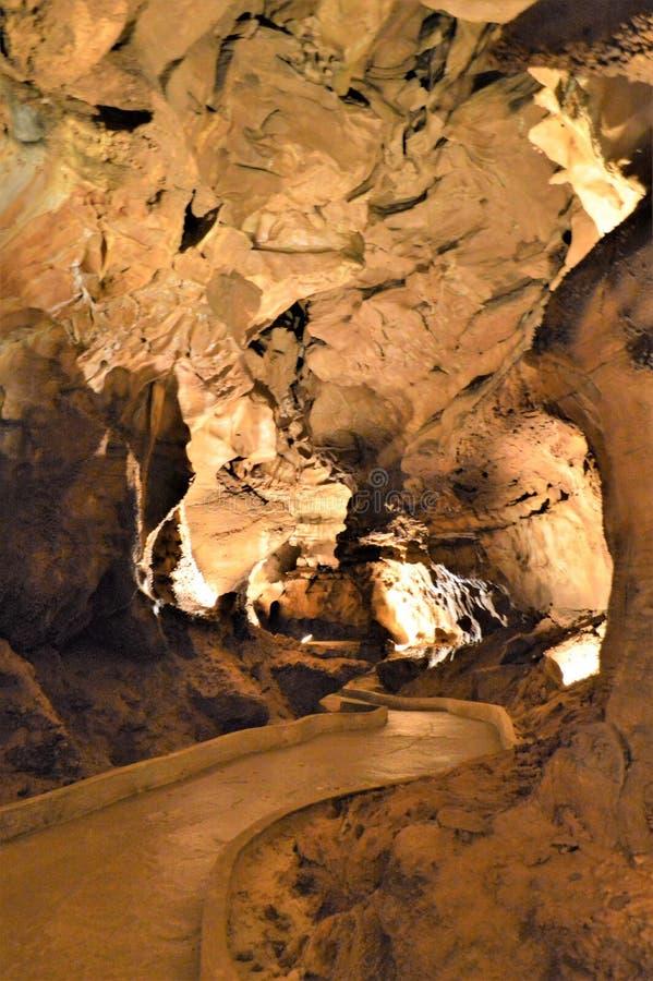 Мамонтовая пещера стоковые фото