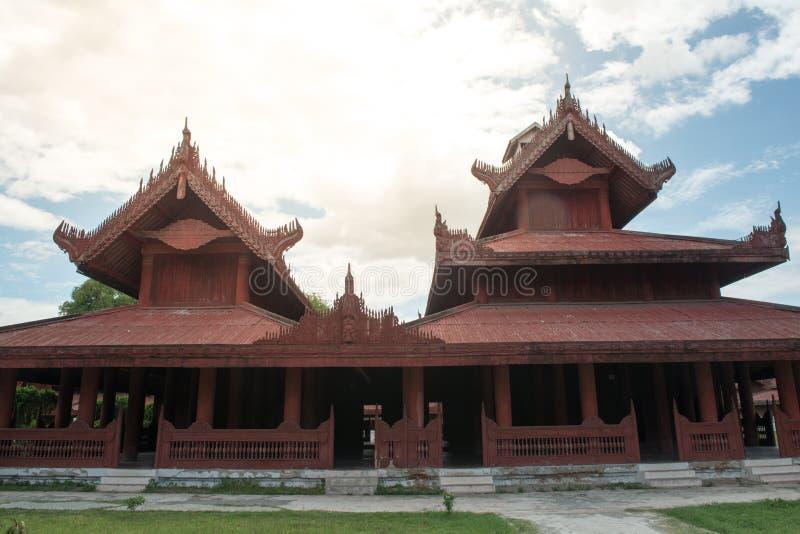 Мандалай Palace стоковое изображение rf