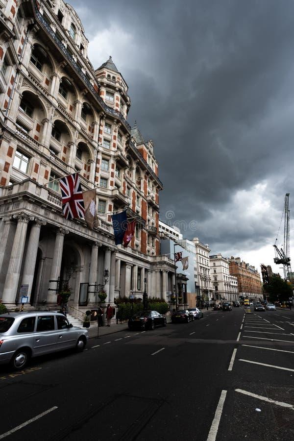 Мандарин восточное Knightsbridge Лондон стоковые изображения