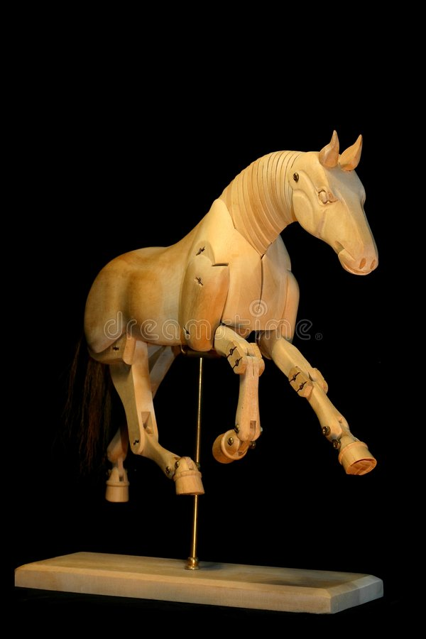 манекен лошади gallop стоковые фото