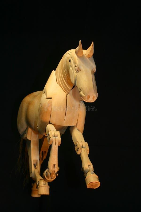 манекен лошади gallop стоковые изображения