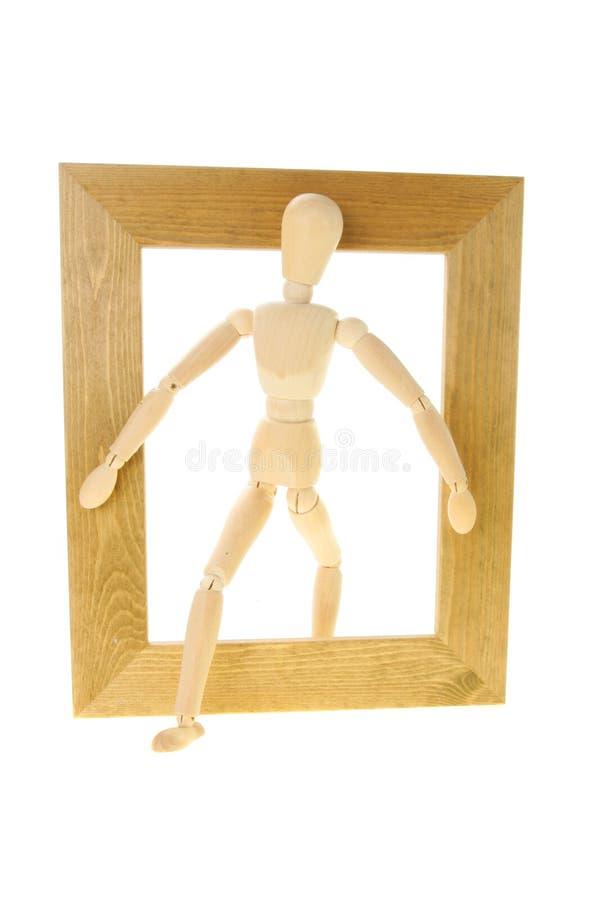 манекен рамки стоковое изображение