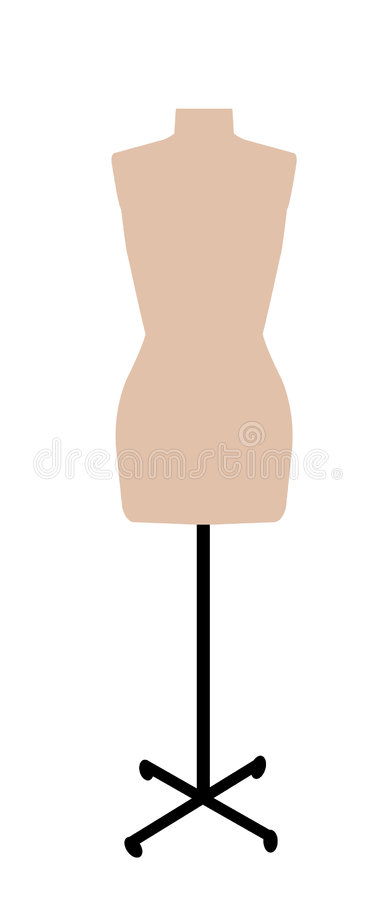 манекен dressmakers иллюстрация штока