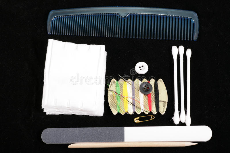 Маникюр и инструменты и продукты pedicure стоковое изображение rf