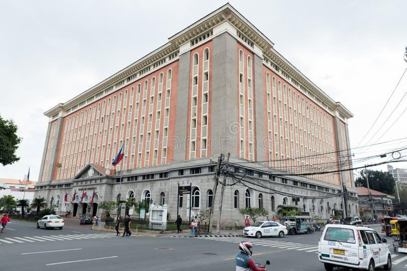 МАНИЛА, ФИЛИППИНЫ - 18-ОЕ ЯНВАРЯ 2018: Дворец губернатора, del Gobernador Palacio стоковое фото