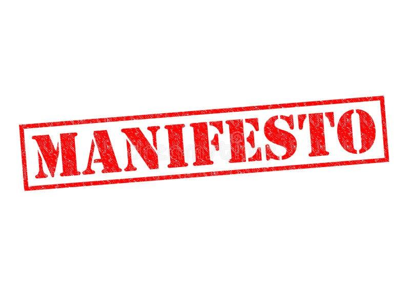 манифест стоковые изображения rf